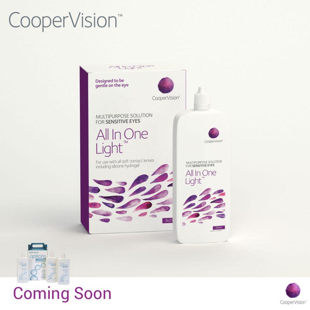 چاپ پوستر محلول شستشوی لنز جدید کوپرویژن